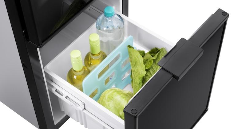 Réfrigérateur Thetford 142 L avec tiroir à bouteilles