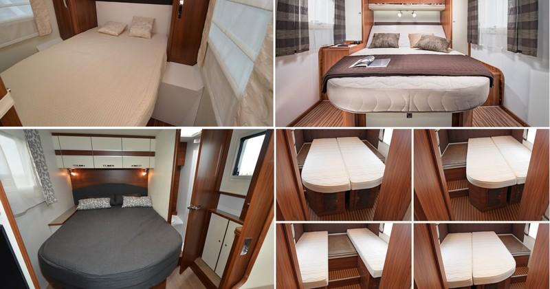 Multiples Variations Autour Du Lit Central Camping Car Le Site