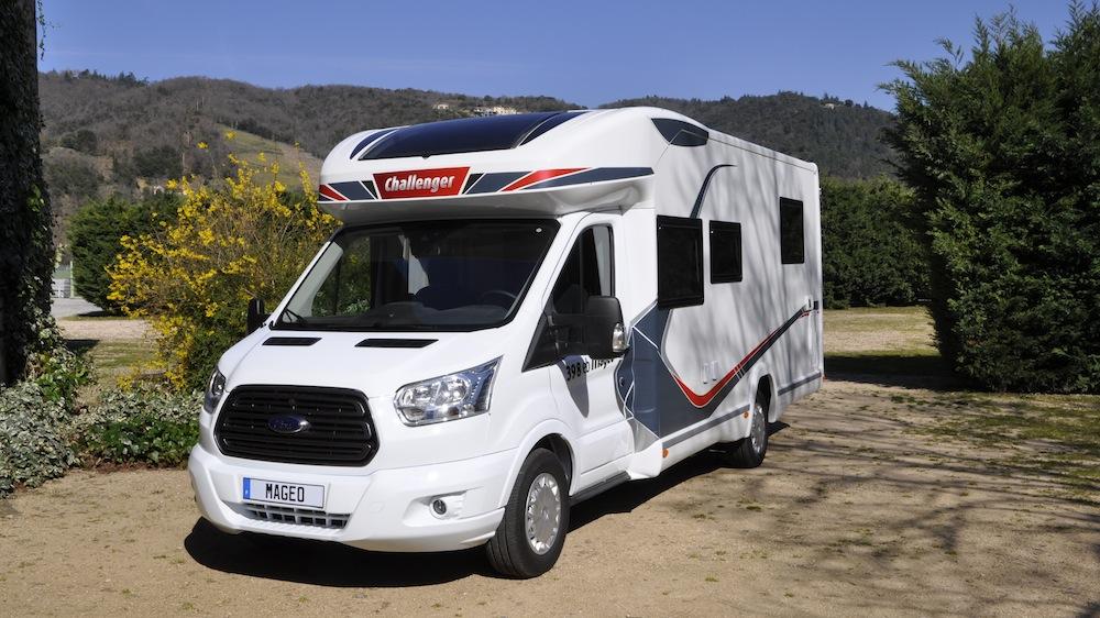 challenger sur le nouveau ford transit les premi res photos camping car le site. Black Bedroom Furniture Sets. Home Design Ideas