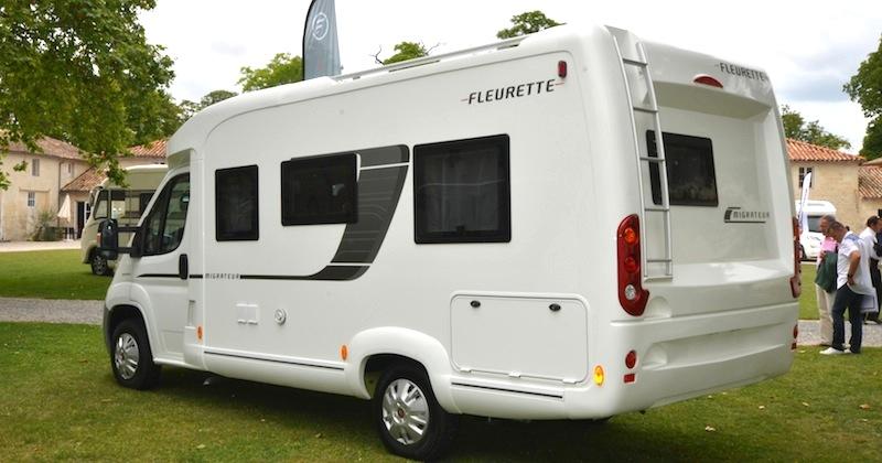 Essai Camping Car Fleurette Migrateur 63lg Camping Car Le Site