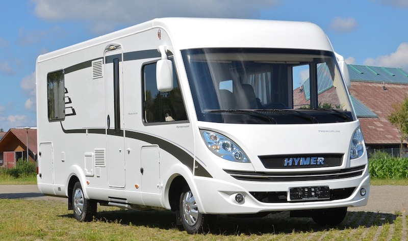 essai camping car hymer b 598 premium line camping car le site. Black Bedroom Furniture Sets. Home Design Ideas