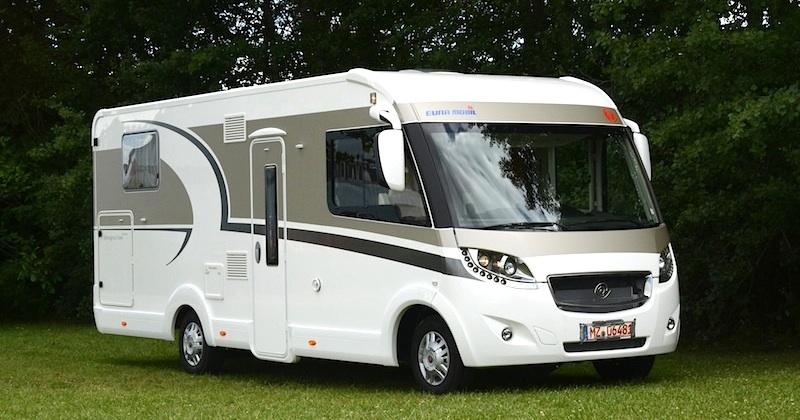 essai camping car eura mobil integra line 720 qb camping car le site. Black Bedroom Furniture Sets. Home Design Ideas