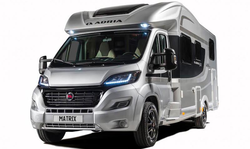 adria f te ses 50 ans avec deux profil s exclusifs camping car le site. Black Bedroom Furniture Sets. Home Design Ideas
