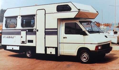 Adriatik 390 en 1985