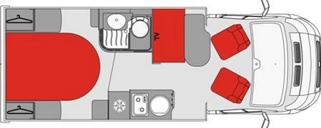 Pilote P650C plan