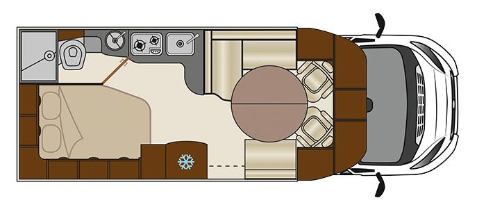 Florium Mayflower 65 LD plan