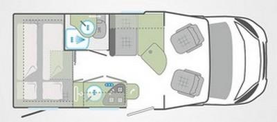 Weinsberg caraloft 550MG plan