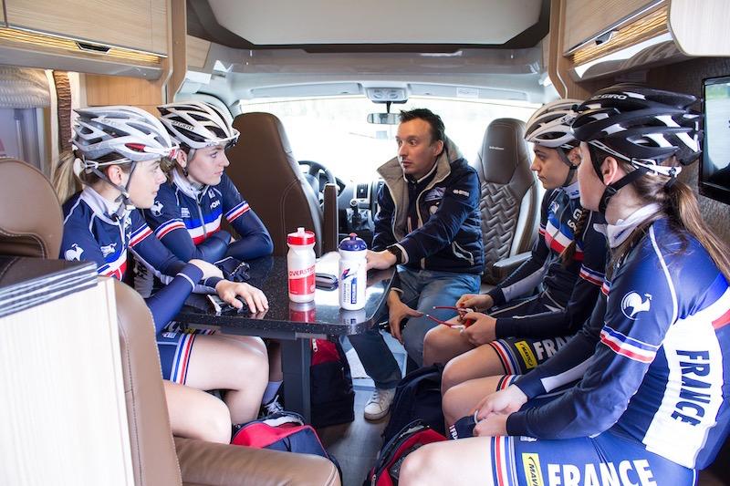 Burstner, partenaire de l'équipe de France et de la fédération de cycliste