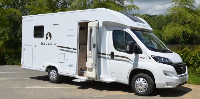 bavaria 2018 un nouveau profil t706c camping car le site. Black Bedroom Furniture Sets. Home Design Ideas
