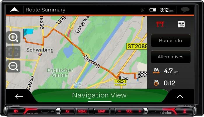 Clarion NX807EC, la nouvelle station multimédia pour camping-car