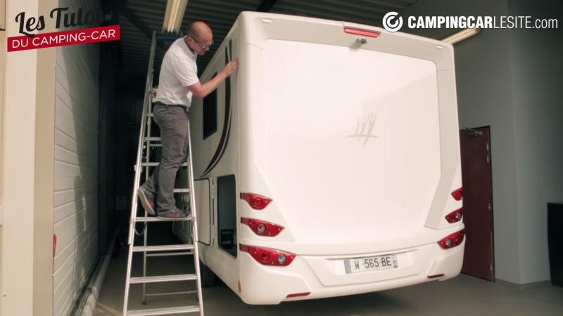 vid o les tutos du camping car les infiltrations d 39 eau camping car le site. Black Bedroom Furniture Sets. Home Design Ideas