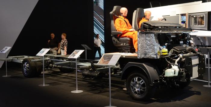 Niesmann+Bischoff Flair 2018 nouveau châssis Iveco Daily avec airbag de série