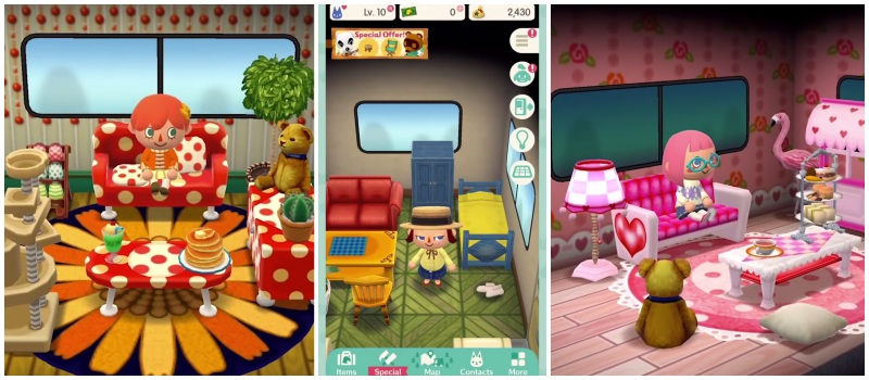 Animal Crossing Pocket Camp Interieur