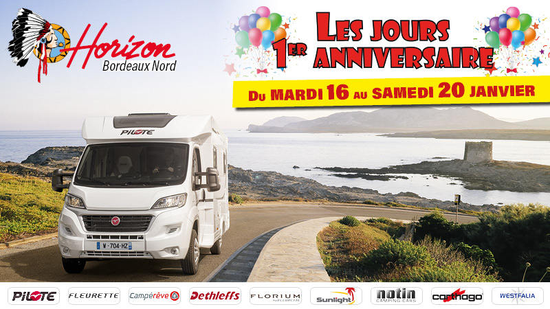 Happy birthday Horizon Bordeaux !