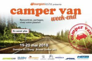 Camper Van Week End 19 20 mai 2018
