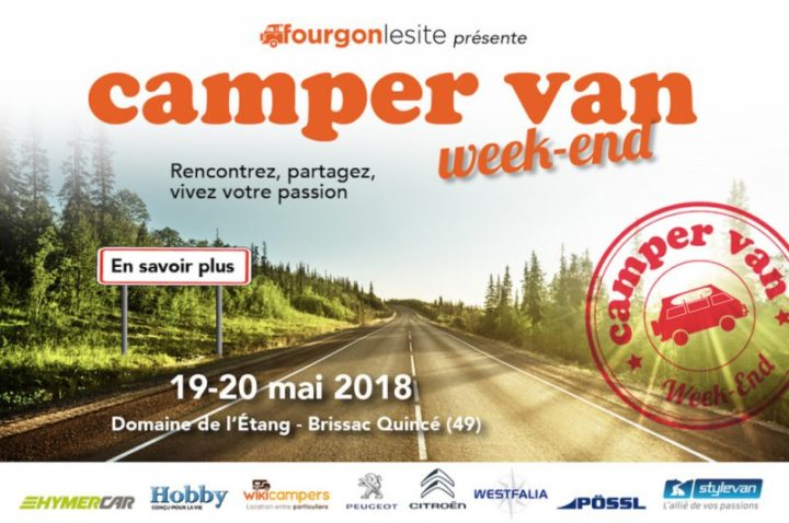 Camper Van Week End 19 20 mai 2018