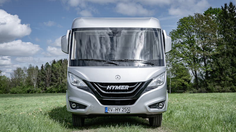 hymer b mc une nouvelle g n ration de camping cars sur mercedes camping car le site. Black Bedroom Furniture Sets. Home Design Ideas
