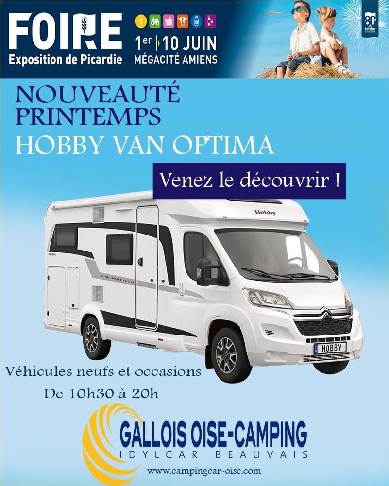 codes promo prix spécial pour nouveau style de Les camping-cars Gallois-Oise présents à la 80ème Foire d'Amiens (80) |  Camping Car le site